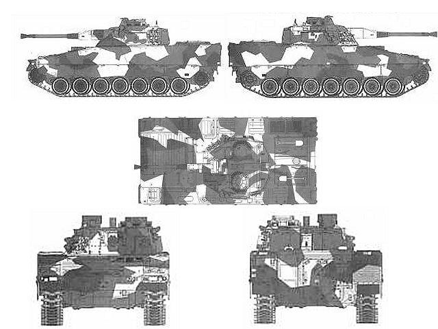 مميزات المدرعة المحدثة CV90 MkIV