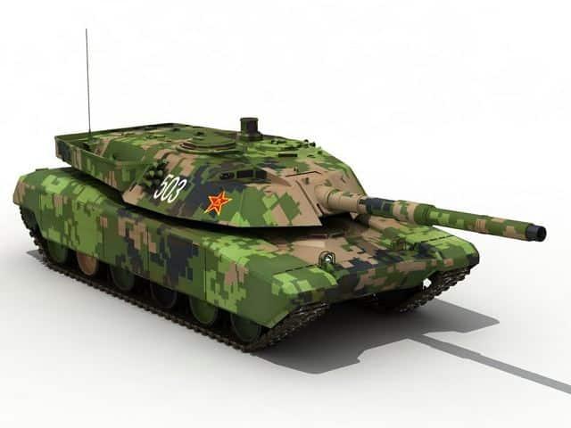 الجيش الصيني يتلقى مجموعة من الدبابات الجديدة من نوع 99A2