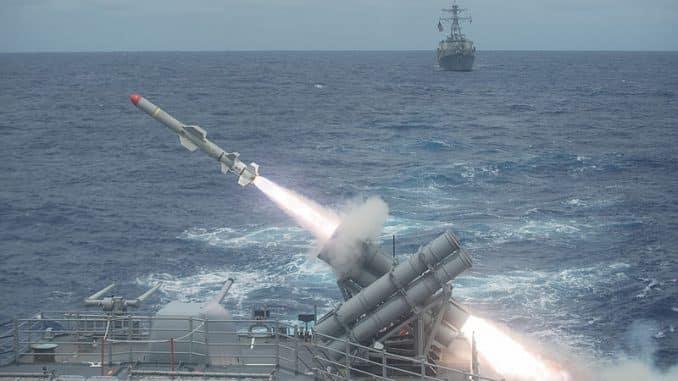 """""""بوينغ"""" تقدم 9 معلومات عن صواريخ """"هاربون""""الخطرة التي يمتلكها الجيش المصري"""