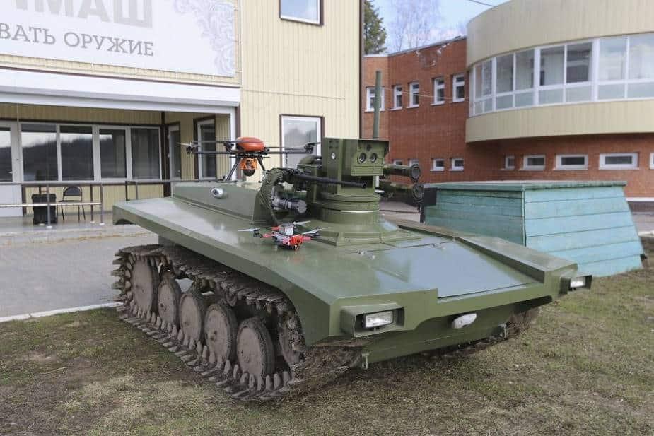 روسيا تختبر طريقة التحكم بالروبوت المقاتل عن طريق الصوت