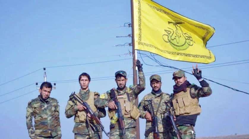 """قصف صاروخي يستهدف معسكر """"التاجي"""" شمالي بغداد ومقاتلات أمريكا تمشط المنطقة"""