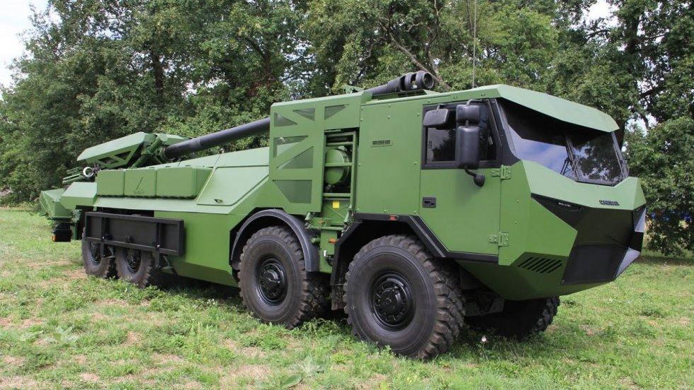 صناعة الدفاع الروسية تكشف عن مدفع هاوتزر Malva الجديد