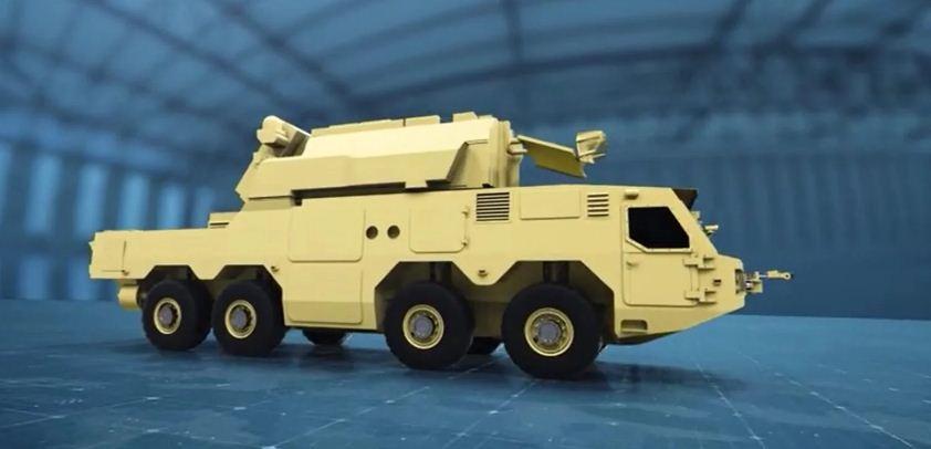 كلاشينكوف تكشف عن شاسيه عسكري جديد لنظام الدفاع الجوي