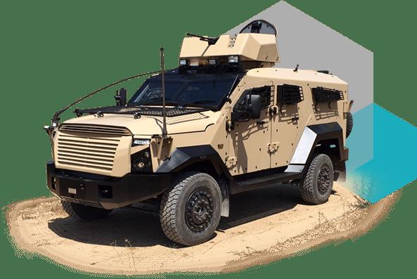 شركتاPlasan و SK Group الإسرائيليتين تنتجان مركبات قتالية في اليونان