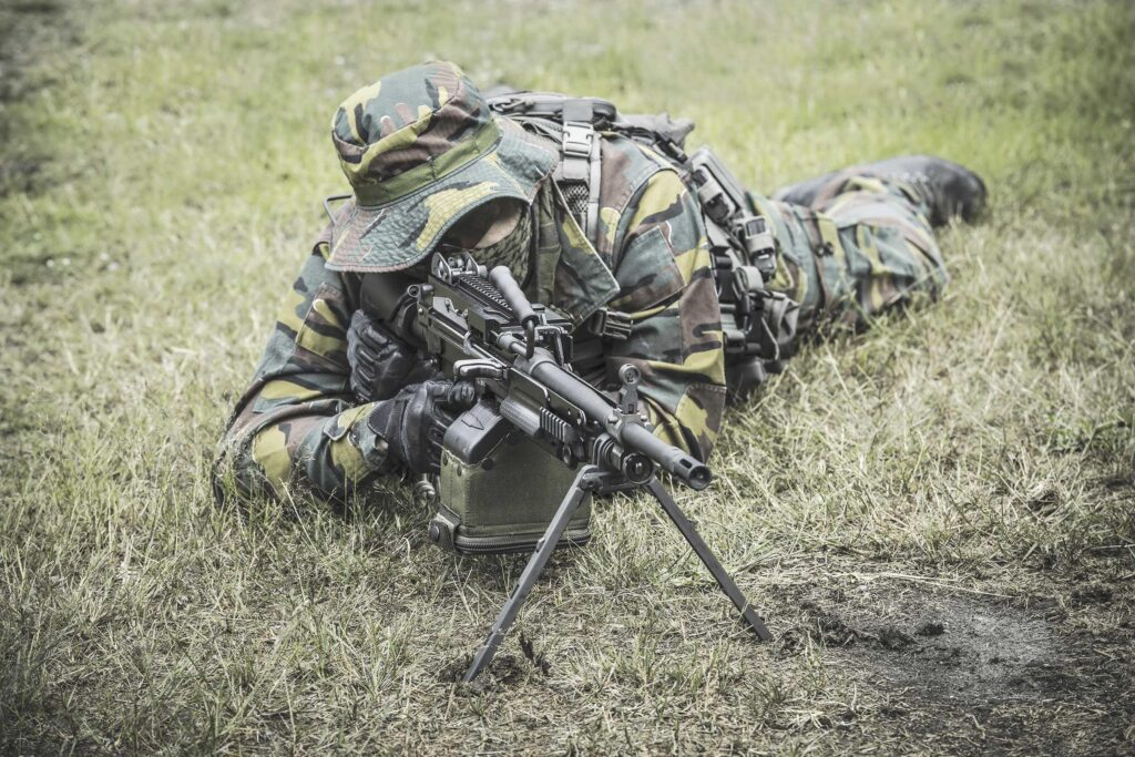 FN Herstal مدفع رشاش خفيف في الخدمة الآن مع الجيش البرتغالي