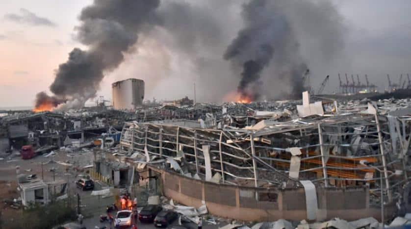 سيناريوهان لتبعات انفجار بيروت على الاحتلال الإسرائيلي