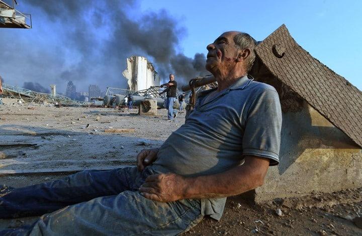 """خليط من مادة """"سي فور"""" والأمونيوم ادت للإنفجار الهائل في مرفأ بيروت"""