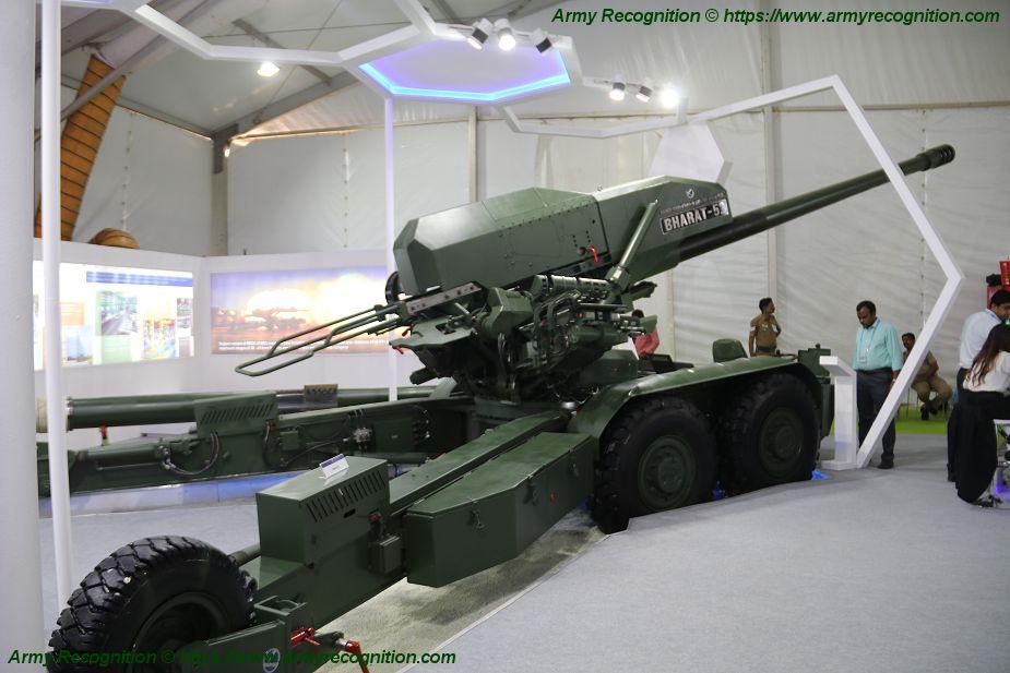 الهند تجري تجارب على نظام المدفعية المتقدم بارات 52