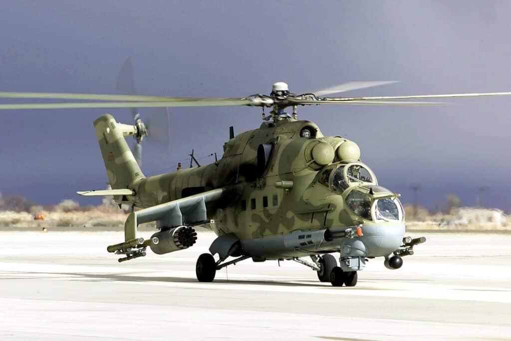 مروحية بيلاروسية من طراز Mi-24 يشتبه في انتهاكها المجال الجوي لليتوانيا