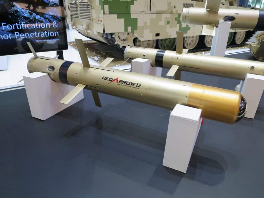 رصد حاملة صواريخ صينية جديدة مضادة للدبابات في منطقة الهضبة الجبلية
