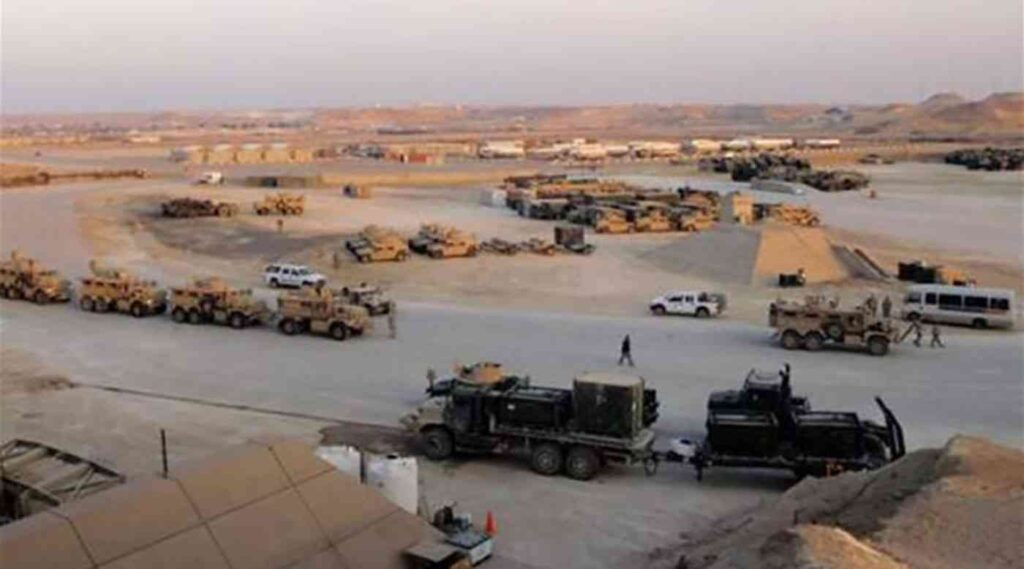 هل تتواجد قوات سعودية في قاعدة التاجي العراقية ؟