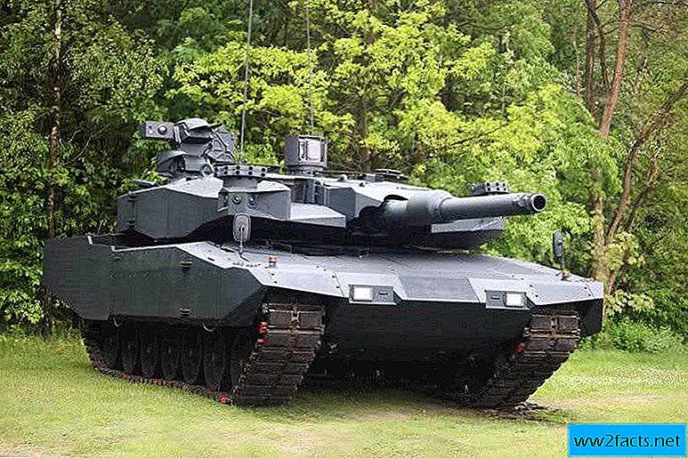 راينميتال تكشف عن دبابة المعركة الرئيسية الجديدة MBT بمدفع 130 ملم