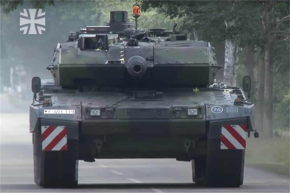 أول اختبارات تجريبية لدبابة قتال رئيسية جديدة من طراز ليوبارد 2A7V للجيش الألماني