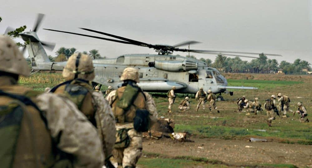 سقوط مروحية للجيش الأمريكي فيشرق سوريا والدبابت طوقت المكان