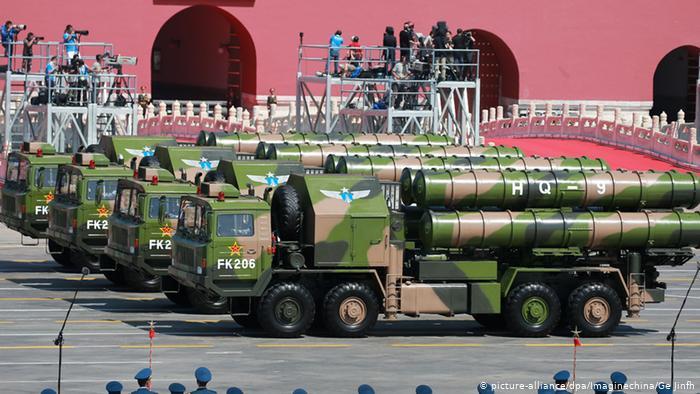 الصين تنشر أنظمة صواريخ دفاع جوي HQ-9 في ولاية سيكيم شمال شرق الهند
