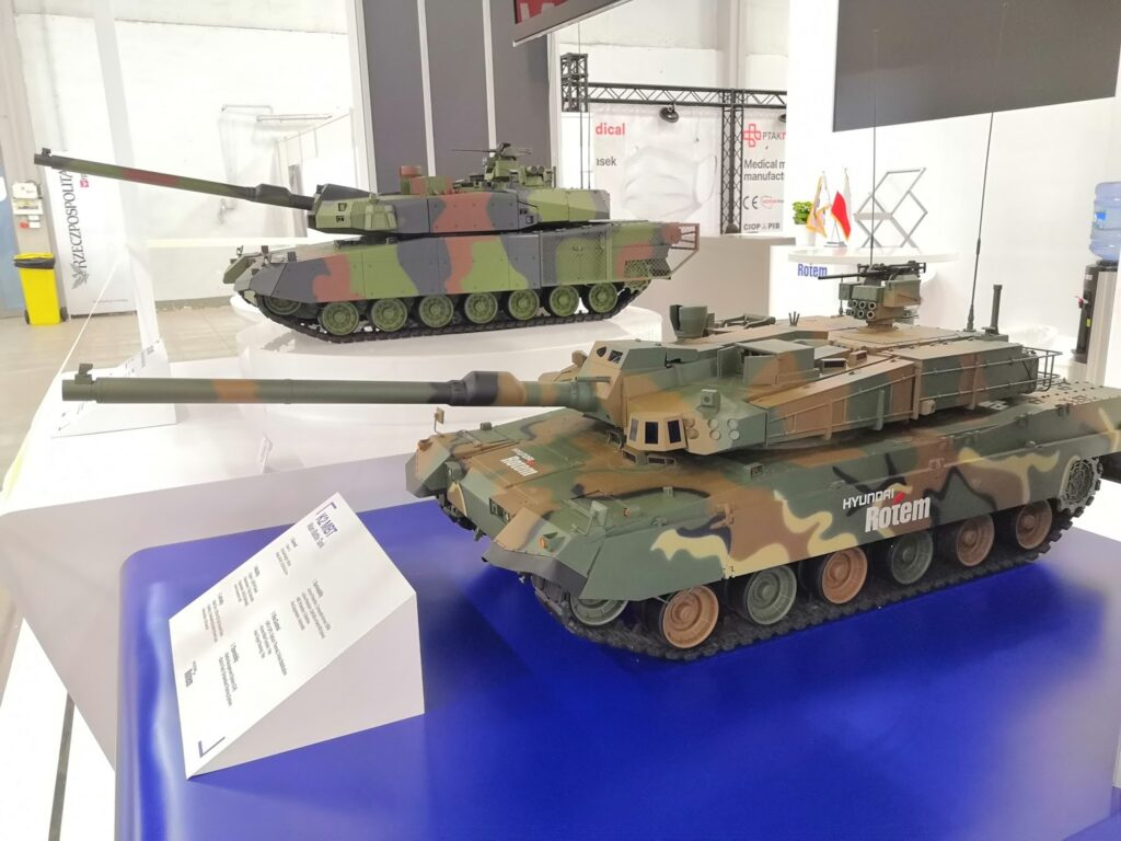 Hyundai الكورية تكشف النقاب عن دبابة القتال الرئيسية K2PL للجيش البولندي
