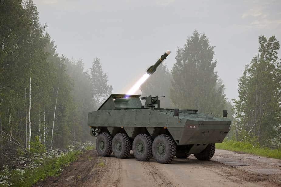 صاروخ Brimstone يقدم مفهومًا جديدًا لمدمرة دبابات متنقلة