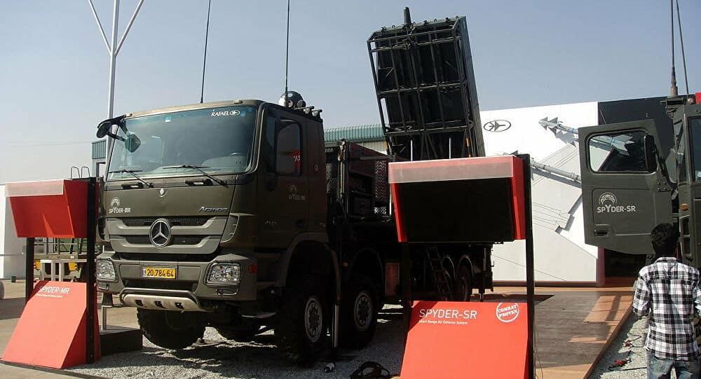الجيش التشيكي يتسلح بنظام صواريخ سبايدر الإسرائيلية الصنع