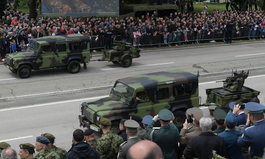الجيش الصربي يظهر كفاءة سلاح UGV المسلح من طراز Milos N