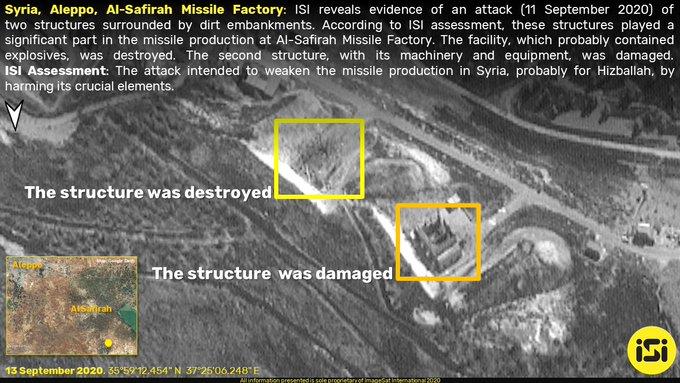 مالذي إستهدفه القصف الإسرائيلي على مدينة حلب السورية ؟