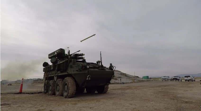 جنرال ديناميكس تطلق فيديو جديد يعرض اختبار Stryker IM-SHORAD