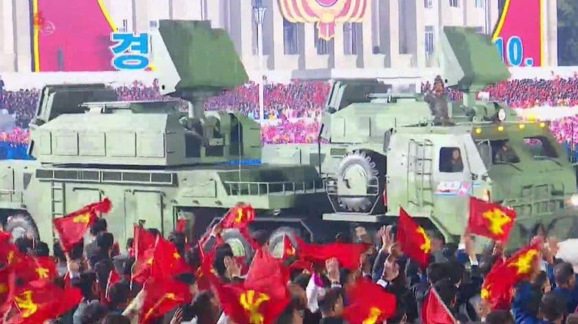 نظام صاروخي للدفاع الجوي جديد لكوريا الشمالية مشابه لنظام تور الروسي