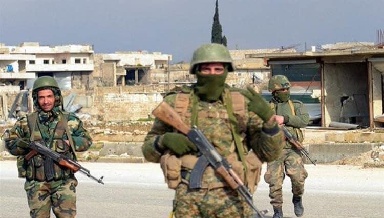 بعد إستهدافه للجيش السوري ..قصف سوري روسي مكثف لمخابىء داعش بالبادية
