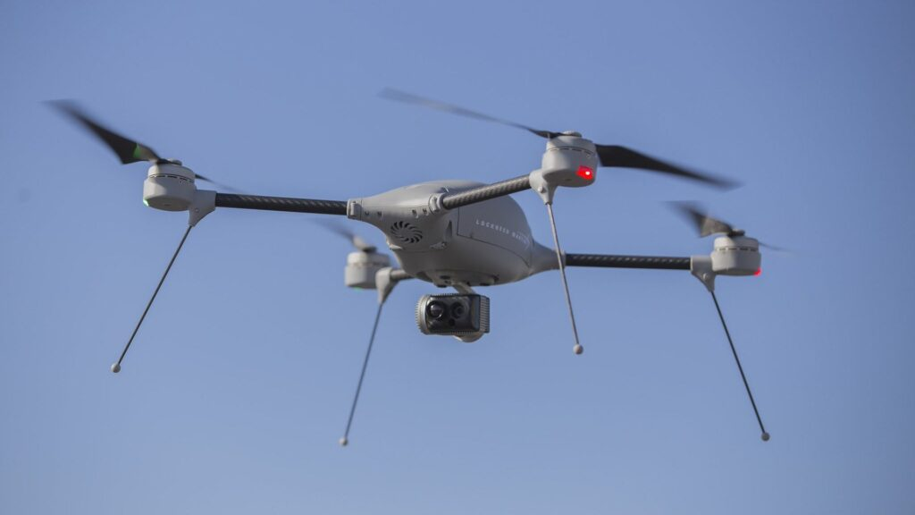 الجيش البريطاني يختبر نظام الطائرات بدون طيار من شركة لوكهيد مارتن