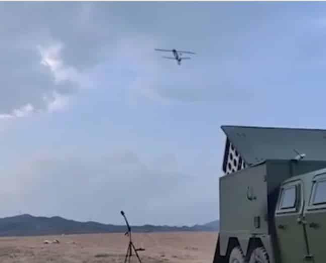 """الصين تكشف عن أحدث أسلحتها الفعالة """"درون سوارم"""" ..فيديو"""