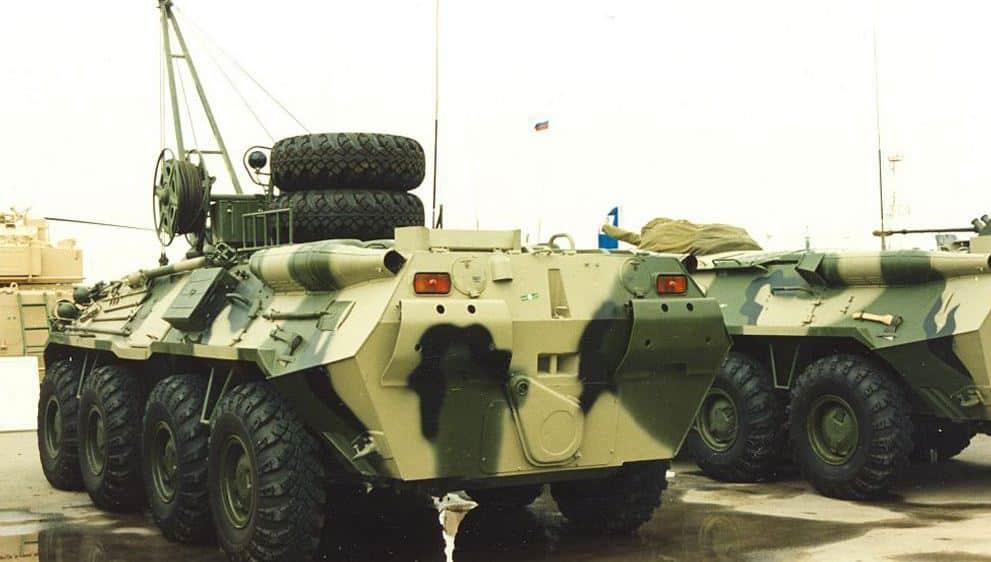 BREM-K مركبة إنقاذ روسية مصفحة لاستعادة المركبات المدرعة