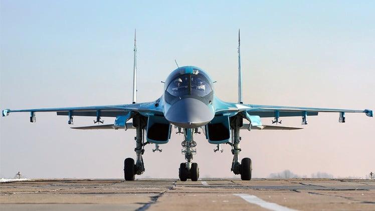 تحطم طائرة مقاتلة روسية من طراز Su-34 في منطقة خاباروفسك