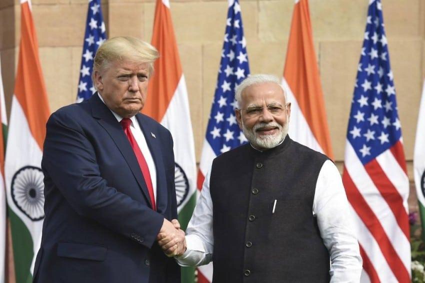 اتفاقا عسكريا بين الهند وأمريكا  لتبادل بيانات الأقمار الصناعية
