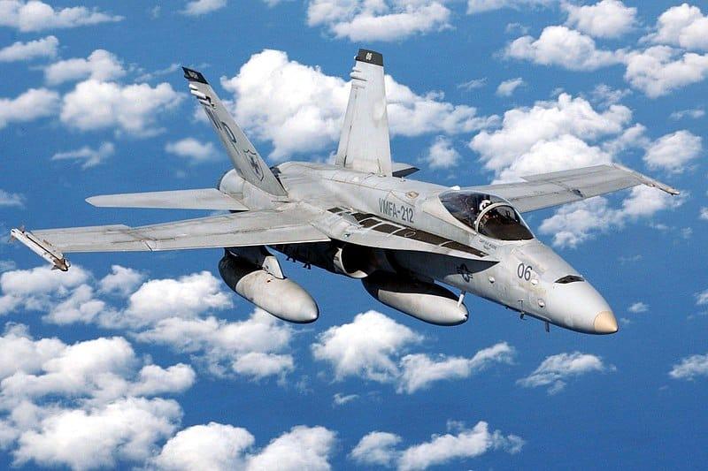 تحطم مقاتلة أمريكية بكاليفورنيا تابعة للبحرية