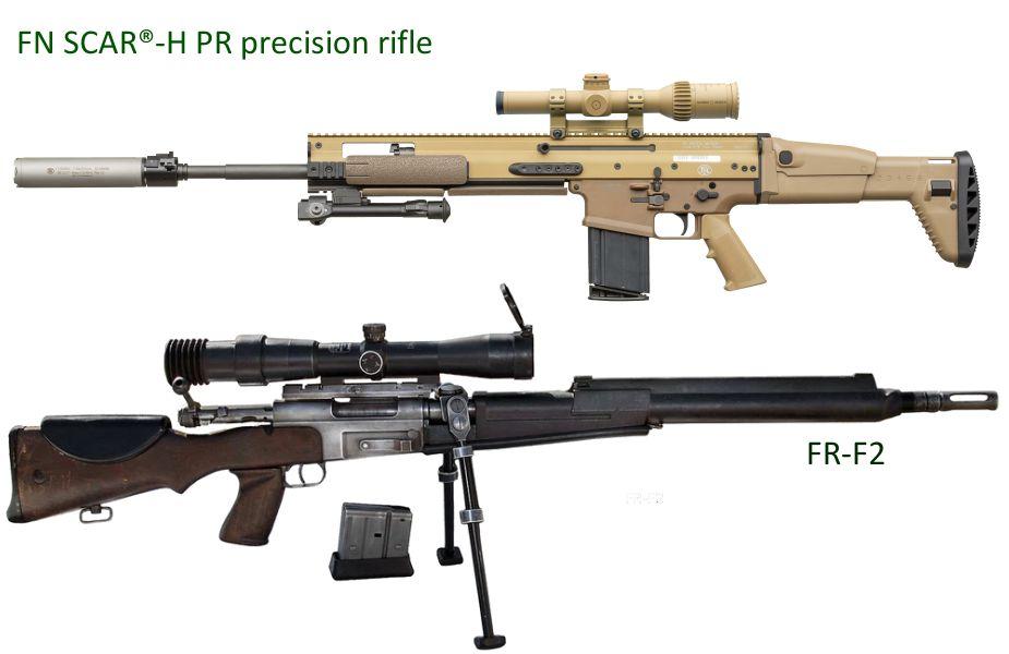 الجيش الفرنسي يخوص أول تدريب له على بندقية قنص جديدة من طراز FN SCAR-H-PR