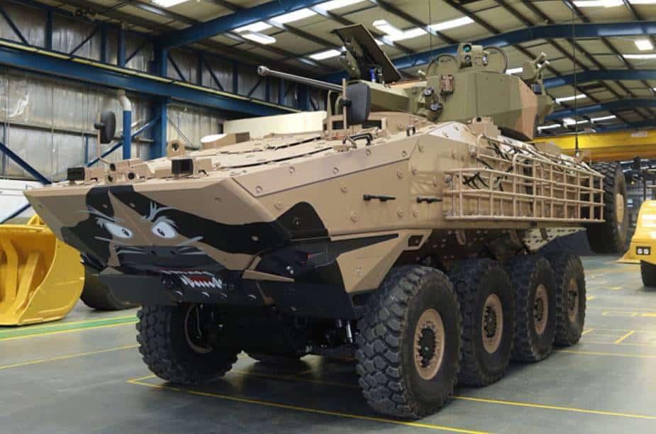غانا تشتري 19 عربة مصفحة إسرائيلية من Elbit Systems..