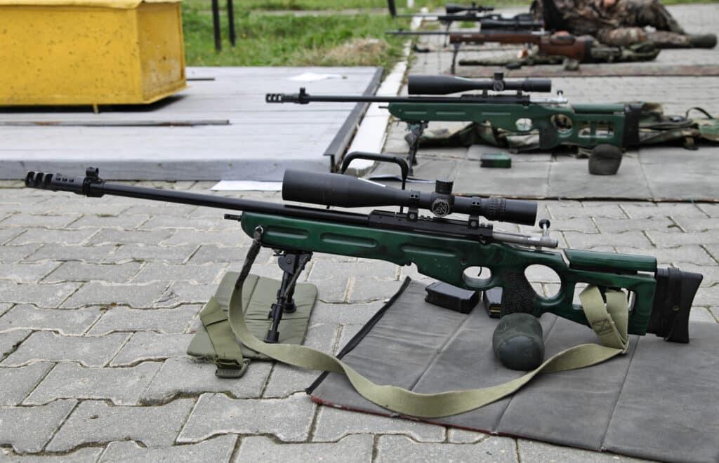 الجيش الروسي المشترك يحصل على بنادق قنص SV-98