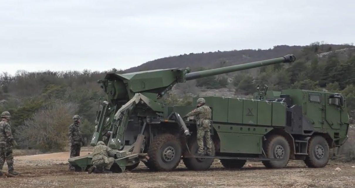المغرب يشتري 30 مدفع هاوتزر ذاتي الحركة من طراز Nexter CAESAR 155mm 6x6