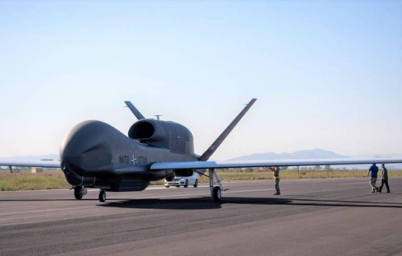 وصول الطائرة الخامسة RQ-4D الأمريكية إلى قاعدة التشغيل الرئيسية للناتو