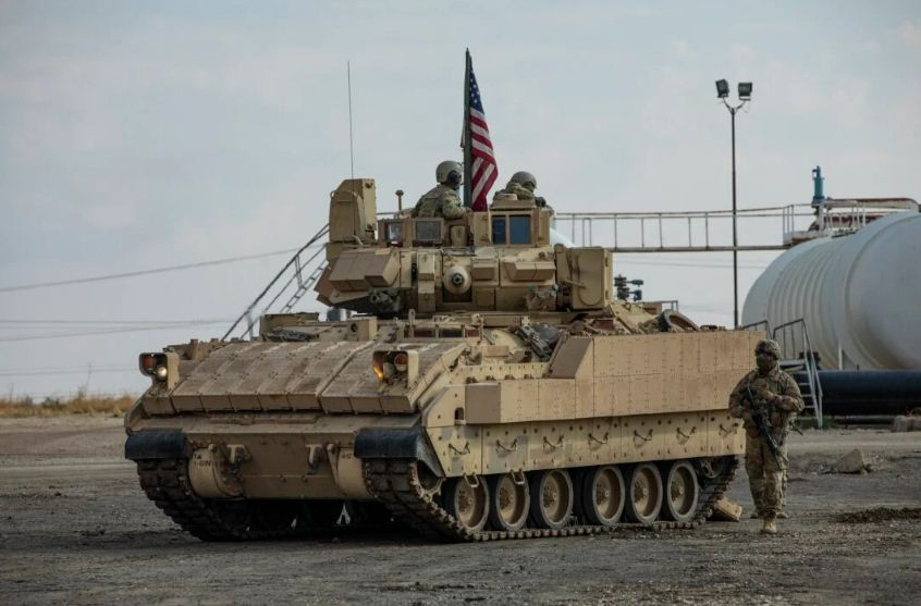 القوات الأمريكية تحكم قبضتها على مواقع النفط السوري
