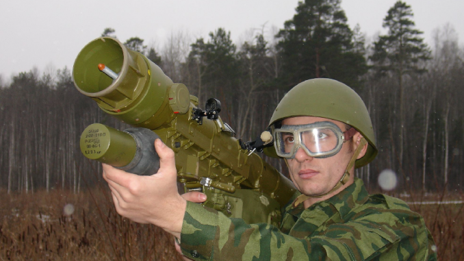 صاروخ فيربا الروسي المحمول على الكتف ..مميزات وقدرات