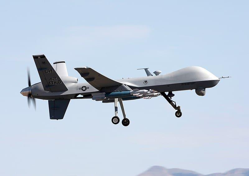 تايون تشتري طائرات مسيّرة من طراز إم-كيو-9 من أمريكا