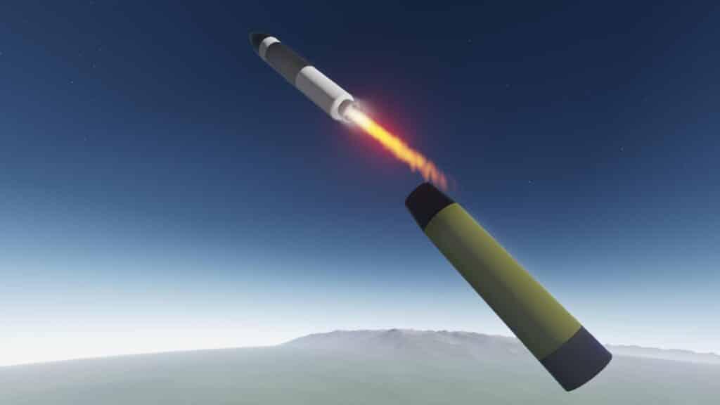 الولايات المتحدة تجري تجربة إطلاق لصاروخ مينيوتمان III ICBM غير المسلح