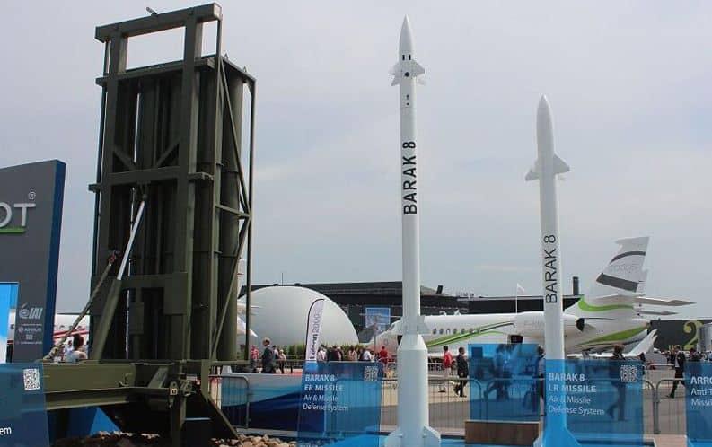 Barak 8 نظام صواريخ دفاع جوي متوسط وطويل المدى