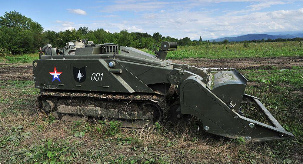 الروس يستخدمون لأول مرة روبوت Uran-6 لإزالة الألغام في ناغورنو كاراباخ