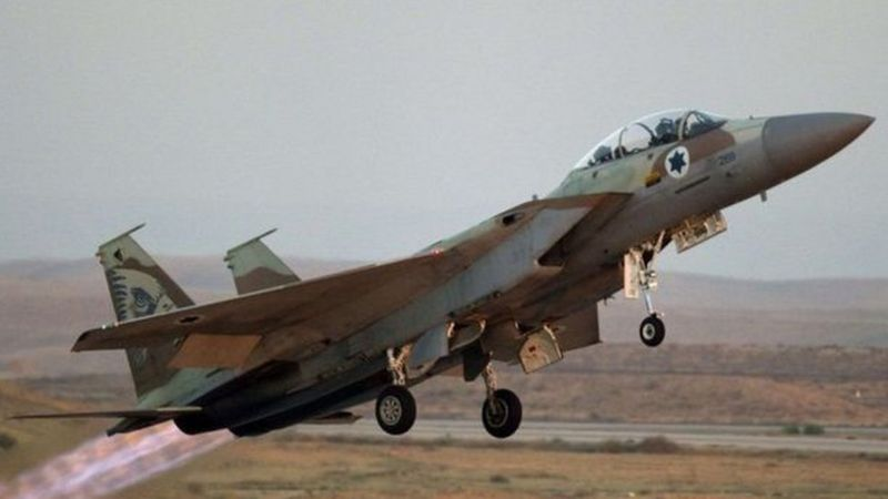 سوريا تتعرض لهجوم إسرائيلي جوي ومقاتلات إسرائيلية في السماء اللبنانية