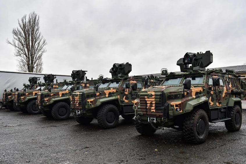 المجر تستقبل الدفعة الأولى من مركبات Gidran المدرعة من تركيا..تعرف مميزاتها