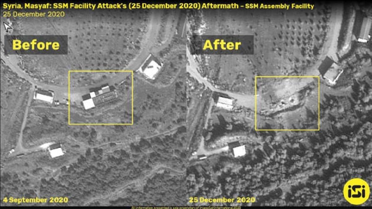ما هي الأهداف التي قصفتها الطائرات الإسرائيلية في سوريا ؟صور فضائية توضح