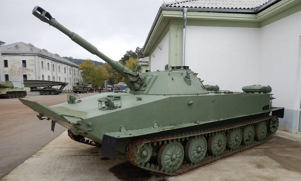 أوكرانيا ترقي الدبابة الخفيفة الإندونيسية PT-76 بمدفع برج بلجيكي LCTS 90 ملم