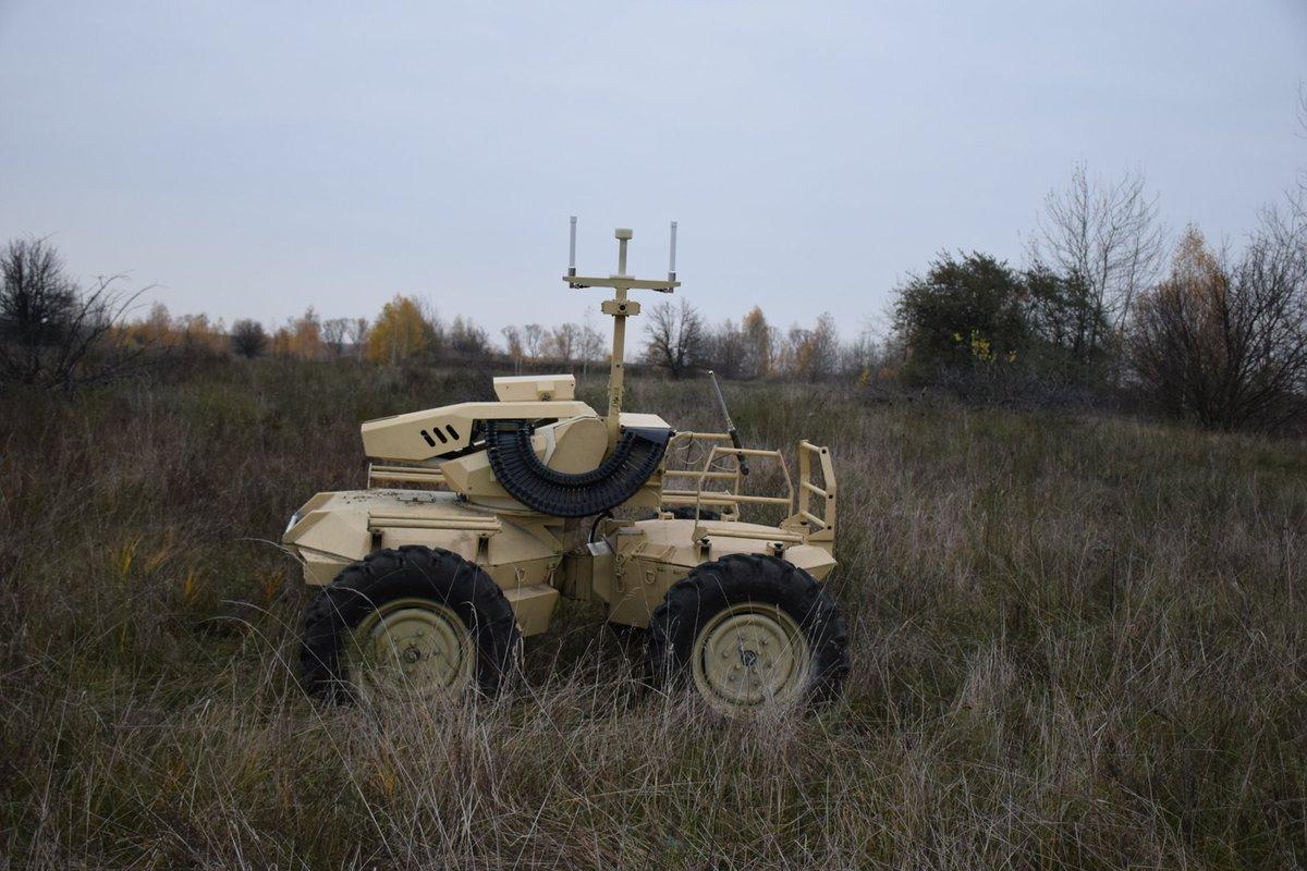 """تفوق واضح للمركبة الأوكرانية الغير مأهولة """"Camel"""""""