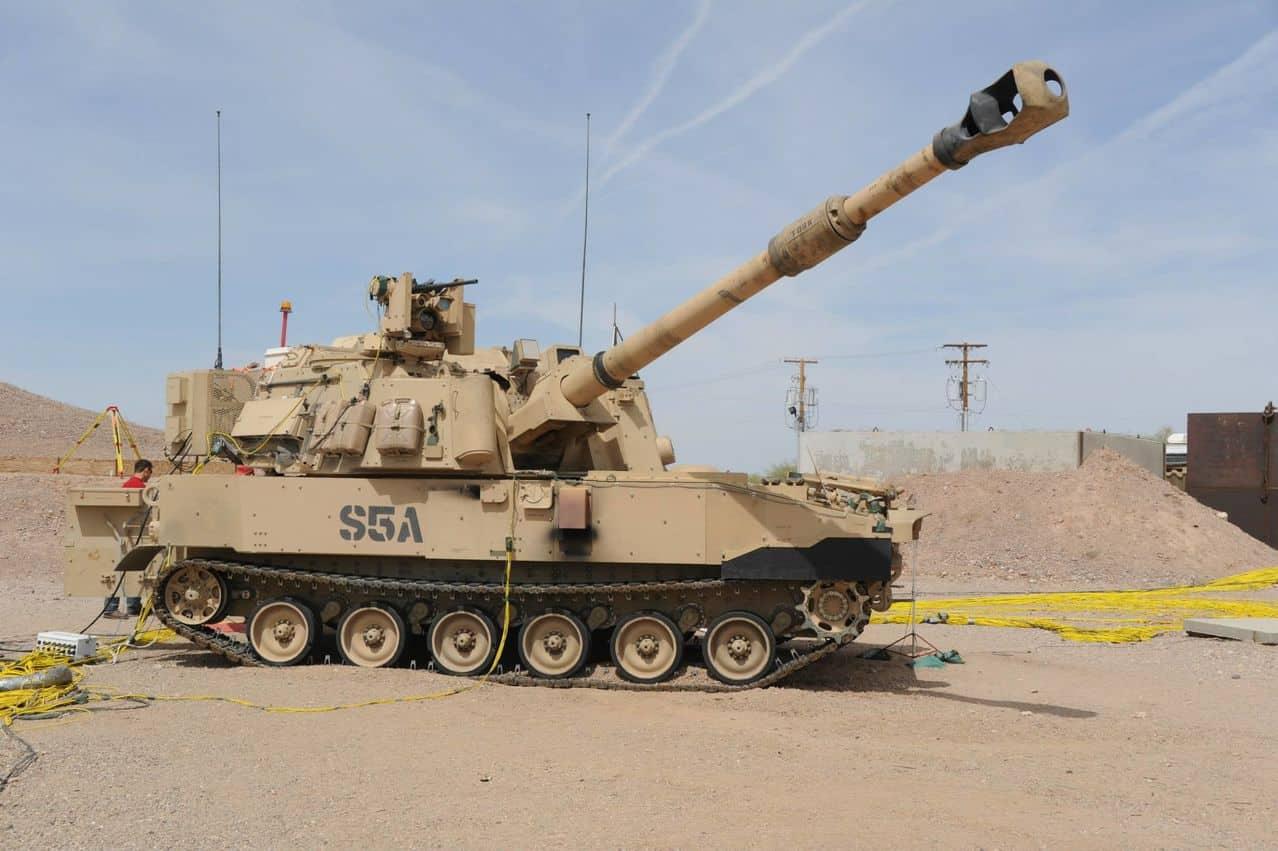 الجيش الأمريكي يكثف إنتاج المدفع الفتاك M109A7 Paladin